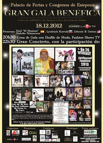Gran Gala benéfica 2012 (Marbella)