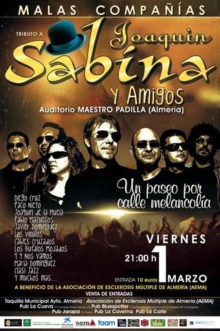 Concierto benéfico a favor de AEMA (Almería)