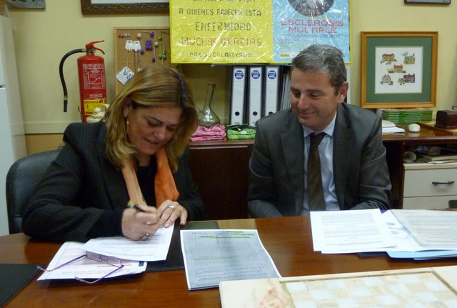 AEMA firma con Ibercaja