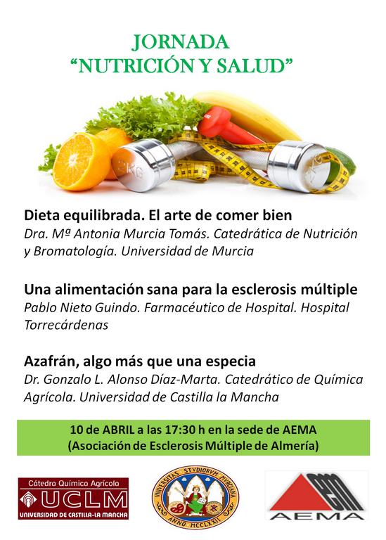 Cartel Jornada Nutrición y Salud (Almería)